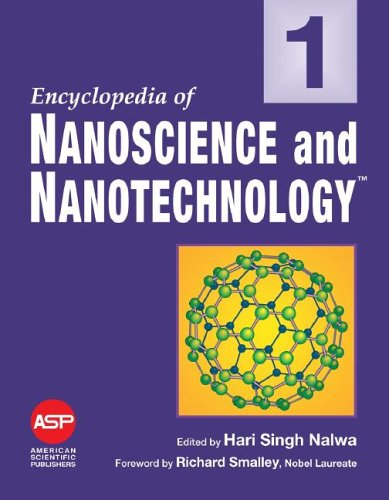 Encyclopedia of Nanoscience and Nanotechnology, 10-Volume Set