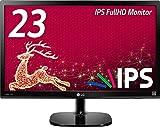 LG モニター ディスプレイ 23MP48HQ-P 23インチ/フルHD/IPS 非光沢/HDMI端子付/ブルーライト低減機能
