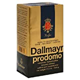 Dallmayr Gourmet Coffee, Prodomo (Ground), 17.6-Ounce Vacuum Packs (Pack of 2)