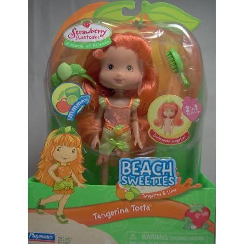 Amazon.com: Strawberry Shortcake Beach Sweeties Tangerina Torta