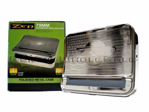 Zen 79Mm Metallic Automatic-Cigarette Rolling Machine - Silver