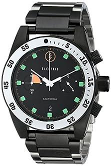 buy Electric Men'S Ew0070010020 Dw02 Stainless Steel Band Analog Display Japanese Quartz Silver Watch