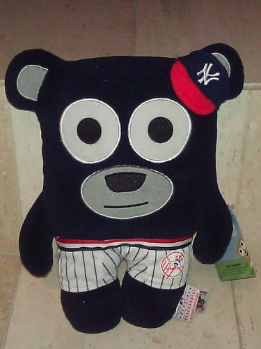 MLB New York Yankees Bear In Underwear Plush Toy, Navy, Small - 1