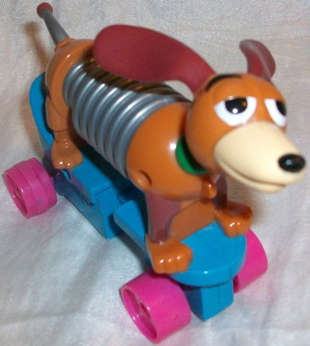 Buy Low Price McFarlane Disney TOY Story – Mcdonald's Happy Meal, Slinky DOG Figure on Wheels Toy (B003WJ4FMU)