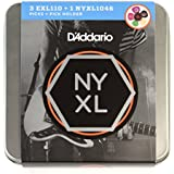 D'Addario EXL110 Electric Guitar Tin String with NYXL Sample Set, Pick Holder and Pick Sampler Pack