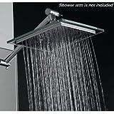 """AKDY (TM) Bathroom Chrome Shower Head 8"""" AZ6021 Rain Style"""