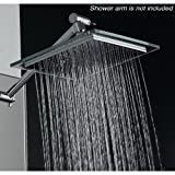 "AKDY (TM) Bathroom Chrome Shower Head 8"" AZ6021 Rain Style"