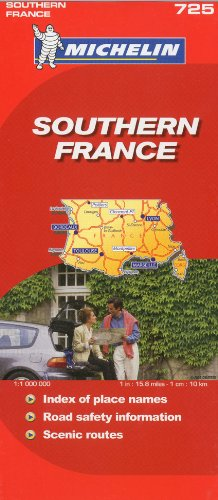Michelin Map France, South 725 (Maps/Country (Michelin))