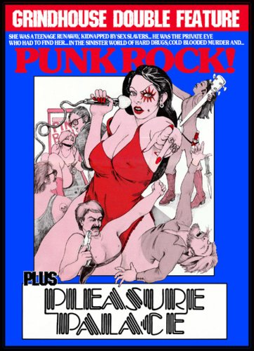 Grindhouse Double: Punk Rock / Pleasure Palace [DVD] [1978] [Region 1] [US Import] [NTSC]