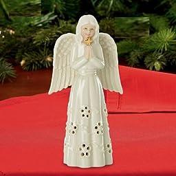 Angel with Cross Figurine By Lenox by Lenox