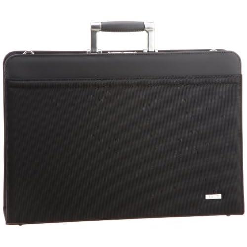 [アイエスプラス] is・+ IS+ アルミ手ハンドル50cmダレスバッグ 日本製 230-3105 1 (ブラック)