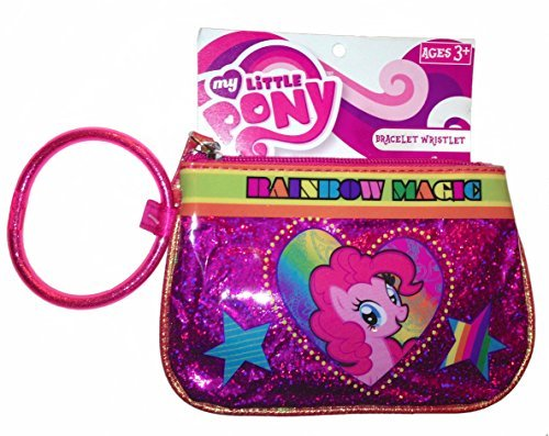 My Little Pony Rainbow Magic Pink Glitter Bracelet Wristlet - 1
