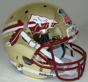 Schutt Florida State Seminoles CHROME LIMITED EDITION 2013 BCS National Champions... by Schutt