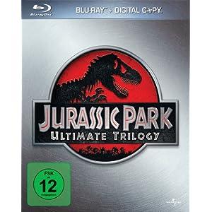 512JFAKnrkL. SL500 AA300  [Amazon UK] Jurassic Park Ultimate Trilogy   Limited Collectors Edition [Blu ray] für ca. 34,99 Euro inkl. Versand