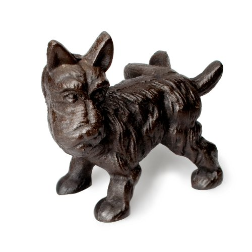 Abbott Cast Iron Scottie Dog Door Stopper Burtonxzfvsefwehbsdhzx