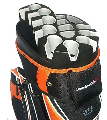 founders-club-premium-14-way-organizer-cart-bag-orange