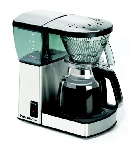 Bonavita BV1800 8-Cup Coffee Maker with Glass Carafe (Coffee Makers Glass compare prices)
