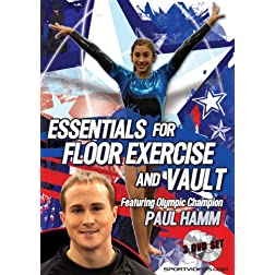 Essentials for Floor Exercise and Vault (3 DVD Set)