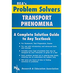 Transport Phenomena Problem Solver (Problem Solvers)