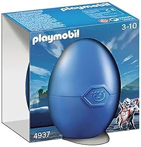 Playmobil - 4937 - Jeu de Construction - Cavalier avec Armure et Cheval