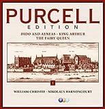 Purcell Edition Volume 1 : Dido & Aeneas, King Arthur & The Fairy Queen