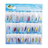 LOT 30 Kinds of Fishing Lures Crankbait Poper Bass Baits Hooks Tackle from Crazy Cart