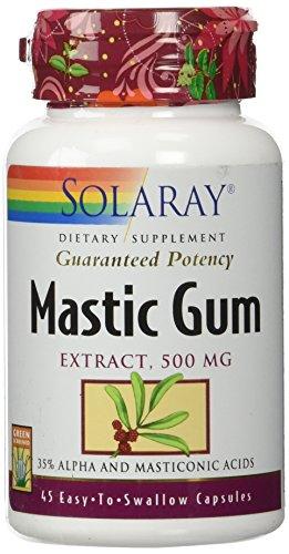 Mastic Gum Solaray 45 Caps
