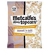 Metcalfe's Skinny Topcorn Popcorn - Sweet 'n Salt (80g)