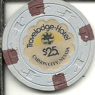 25-travelodge-hotel-rare-casino-chip-carson-city-nevada