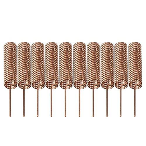 DAOKAI® 10pcs 433MHz Antenne Helical Spiralfeder Fernbedienung für Arduino Raspberry 5mm