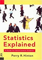 Statistics Explained by Hinton