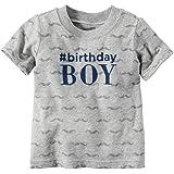 Carter's Birthday Tee 119g051, Heather