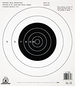 Amazon Com Champion Gb 16 25 Yard Pistol Slow Fire Nra