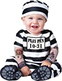 InCharacter Costumes, LLC Time Out, Black White, Small