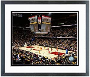 Cleveland Cavaliers Quicken Loans Arena Inaugural Game NBA Photo 12.5 x 15.5 Framed by NBA