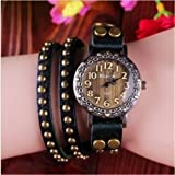 Luxury Watches Women Dr Brand Watches Womens Dress Watch Fashion Trend Rivet Winding Ladies Antique Watch Christmas Gift Vis-03