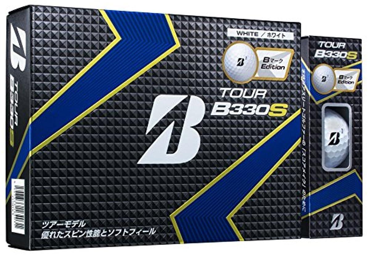 [해외] BRIDGESTONE(브리지스톤) 골프 볼 TOUR B TOUR B330S B마크Edition 유니 GSBXT 화이트