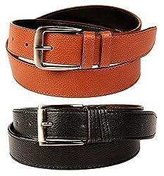 FEDRIGO Brazil Black & Tan Belt