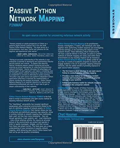 Python Passive Network Mapping: P2NMAP