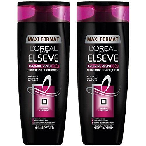 L'Oréal Paris Elvive Arginina Resist X3 Shampoo 400ml Booster Pack 2