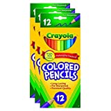 Bulk Buy: Crayola Colored Pencils 12/Pkg Long 68-4012 (3-Pack)