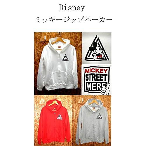 disney ミッキージップパーカー  < ミニーパーカー アメコミパーカー  ミッキーパーカー ミッキーマウス ミニー MINNIE パーカー minnie ミッキー mickey MICKEY MOUSE ディズニー ディズニーランド > (ホワイト)