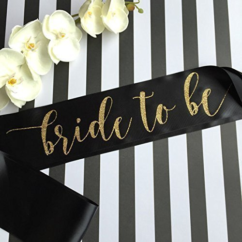 Bride to Be Bachelorette Party Sash (Custom Bride To Be Sash compare prices)