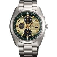 [オリエント]ORIENT 腕時計 NEO70's ネオセブンティーズ Horizon ホライズン ソーラー クロノグラフ WV0021TY メンズ