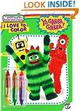 I Love to Color (Yo Gabba Gabba!)