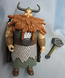 How To Train Your Dragon Movie 4 Inch Action Figure Stoick
