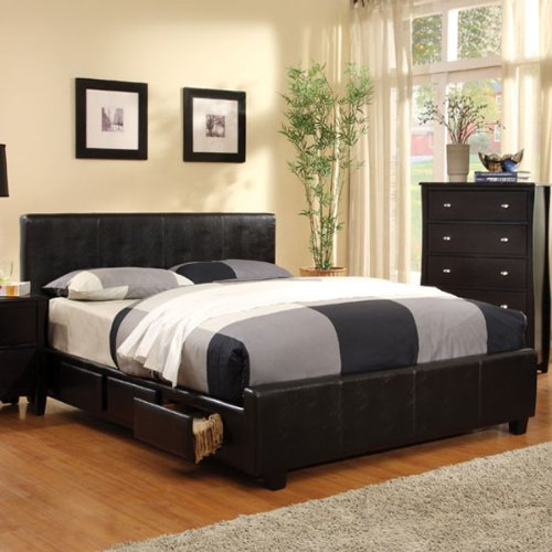 Buy Eastern King Size Burlington Espresso Finish Bed Frame Set
