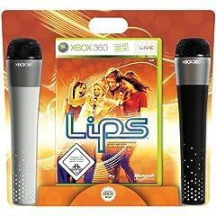 Lips mit 2 Mikrofonen für die XBox 360