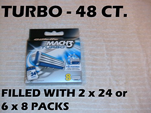 wholesale-2-pack-gillette-mach3-turbo-refill-cartridge-blades-24-count-48-total