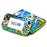 New Super Mario Bros. U Decorative Decal Cover Skin for Nintendo Wii U Console and GamePad